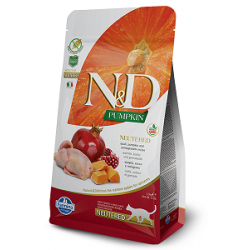 FARMINA N&D PUMPKIN  Neutered Quail&Pomegranate 0.3kg